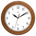 Wooden clock - light oak